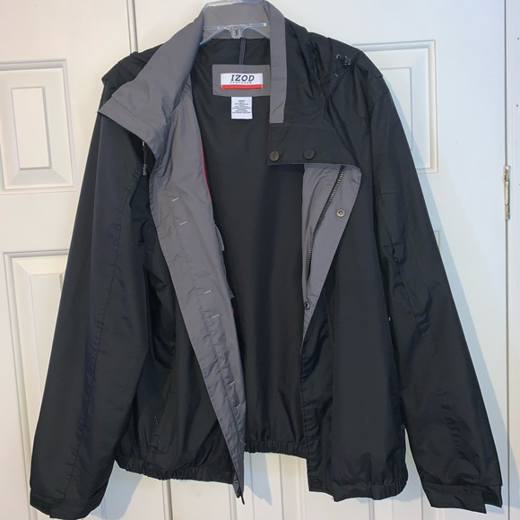 EUC Izod Perform X Hoodie Jacket Size L.